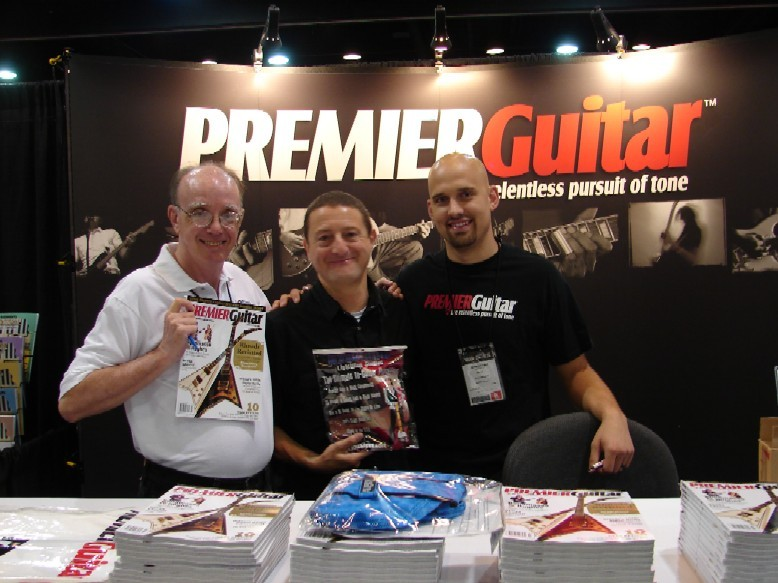 Patrick & Premier Guitar Staff